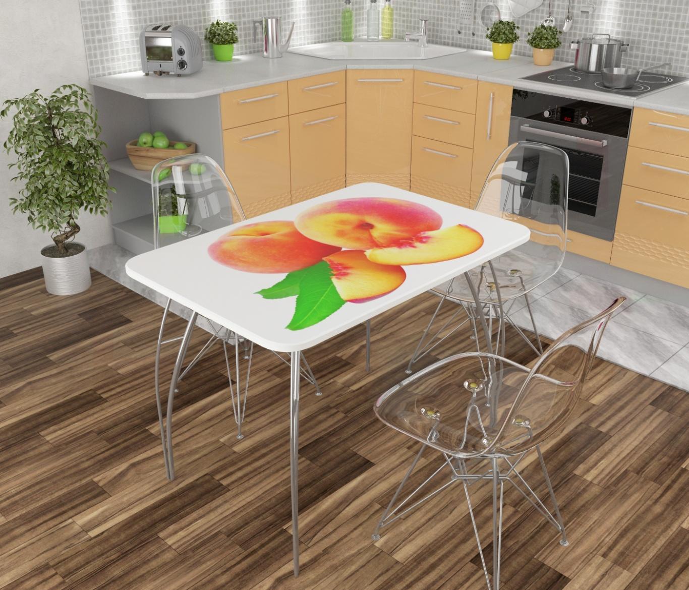 Кухонные столы мдф с фотопечатью в самаре